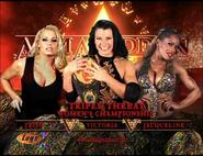 Trish Stratus vs. Victoria vs. Jacqueline Armageddon 2002