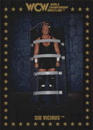 1991 WCW Collectible Trading Cards (Championship Marketing) Sid Vicious 10