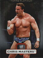 2010 WWE Platinum Trading Cards Chris Masters 34