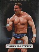 2010 WWE Platinum Trading Cards Chris Masters 34