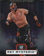 2010 WWE Platinum Trading Cards Rey Mysterio 113