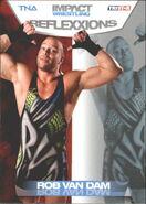 2012 TNA Impact Wrestling Reflexxions Trading Cards (Tristar) Rob Van Dam 10