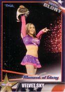 2013 TNA Impact Glory Wrestling Cards (Tristar) Velvet Sky 13