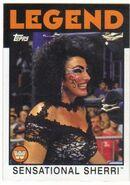2016 WWE Heritage Wrestling Cards (Topps) Sensational Sherri 103