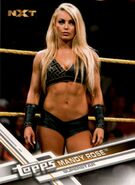 2017 WWE (Topps) Then, Now, Forever Mandy Rose 175