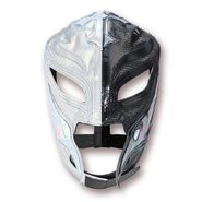 Rey Mysterio Silver & Black Replica Mask