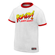 Ronda Rousey Rowdy Ronda Rousey Youth Authentic T-Shirt