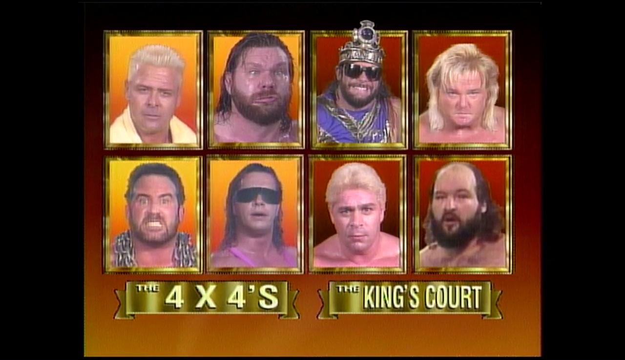The Kings Court vs Team 4x4