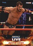 2013 TNA Impact Wrestling Live Trading Cards (Tristar) Austin Aries 6