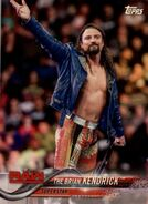 2018 WWE Wrestling Cards (Topps) The Brian Kendrick 17