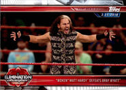 2019 WWE Road to WrestleMania Trading Cards (Topps) Matt Hardy 100