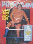 WWF Wrestling Program - Volume 130