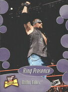 2001 WWF The Ultimate Diva Collection (Fleer) Undertaker 59