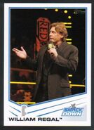 2013 WWE (Topps) William Regal 83
