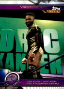 2019 WWE Road to WrestleMania Trading Cards (Topps) Cedric Alexander 50