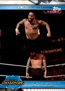 2019 WWE Road to WrestleMania Trading Cards (Topps) The Usos 99