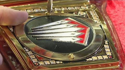 Finn Bálor's custom plates are added to the WWE Universal Championship Aug
