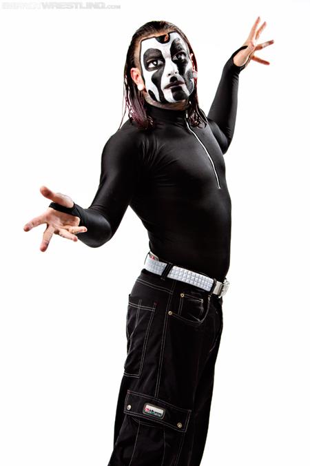 Jeff Hardy New Facepaint 2012 Angle
