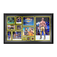 Seth Rollins WrestleMania 33 Signed Commemorative Plaque