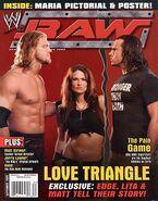 WWF Raw Magazine September 2005