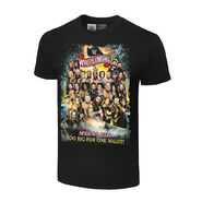 WrestleMania 36 Too Big For One Night Authentic T-Shirt