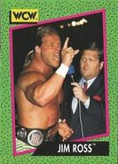 1991 WCW (Impel) Jim Ross 155