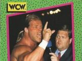 1991 WCW (Impel) Jim Ross (No.155)