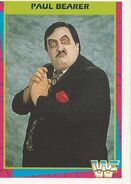 1995 WWF Wrestling Trading Cards (Merlin) Paul Bearer 33