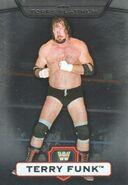 2010 WWE Platinum Trading Cards Terry Funk 104