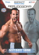 2012 TNA Impact Wrestling Reflexxions Trading Cards (Tristar) Anthony Nese 50