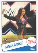 2015 WWE Heritage Wrestling Cards (Topps) Sasha Banks 109