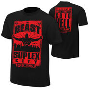 Brock Lesnar Go To Hell Tour NYC Event T-Shirt