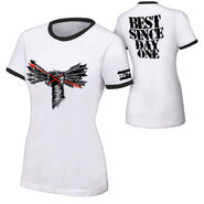 CM Punk Best Since Day One Women's Authentic T-Shirt