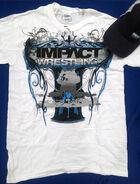 IMPACT WRESTLING Shirt & Hat Combo (White)