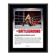 Natalya Battleground 2016 10 x 13 Commemorative Photo Plaque