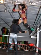 Darci Drake - in-ring action - Classic Wrestling - 2010