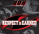 ROH Respect Is Earned 2007