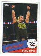 2015 WWE Heritage Wrestling Cards (Topps) Seth Rollins 92