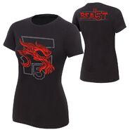 Brock Lesnar F5 Beast Women's Authentic T-Shirt