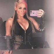 Nattie Backstage