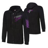 Paige Think Again Full-Zip Hoodie Sweatshirt