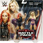 WWE Battle Packs 55 Charlotte Flair & Becky Lynch