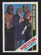 1985 Wrestling All Stars Trading Cards The Road Warriors 35