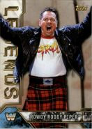 2017 Legends of WWE (Topps) Rowdy Roddy Piper 78