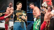 Grand Slam winners Eddie Guerrero