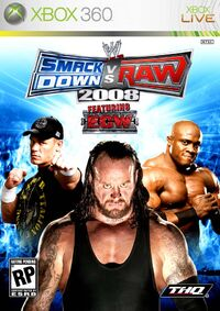 WWE SmackDown vs. Raw 2008のカバーアート