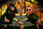 WrestleMania 15 Undertaker vs Big Bossman in hell in a cell