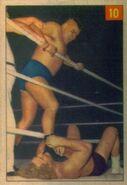 1954-1955 Parkhurst Wrestling Trading Cards Chief Big Heart 10