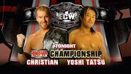 Christian vs. Yoshi Tatsu