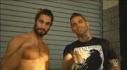 Seth Rollins (WWE Superstar Ink) 9